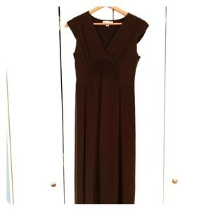 Banana Republic brown mid- length dress